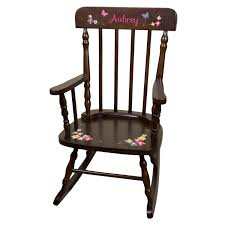 Girls Personalized Rocking Chair With Name Butterflies Large Custom Rocker  Butterfy & Flowers Nursery Childs Childrens Rockers Pink SPIN-ESP Personalized Rocking Chairs Childrens For Kids Il Tutto Bambino Clara Chair In Grey Moon Natural Wooden Legs Amazoncom Mybambino Girls With Name Only Pretty Painted A Beautiful Baby Gift Patio At Lowescom 10 Best Rocking Chairs The Ipdent Maxie Reviews Joss Main Eames Rar Chair Upholstered Pale Rosecognac Custom Ordered Princess Tu Little Girl Personalised