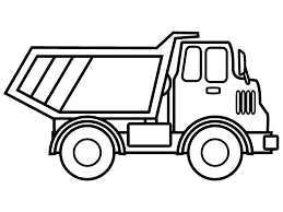 Monster Truck Outline Captivating Free Printable Car Coloring Pages Dump