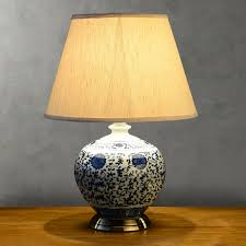 Ceramic Table Lamps For Bedroom by Blue Table Lamps Bedroom Lamps And Lighting