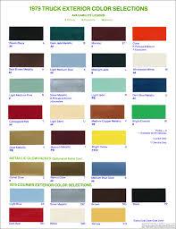 100 Truck Colors Dupli Color Chart Charts HOK U LG Healthportal4uinfo