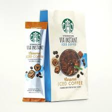 Starbucks Instant Coffee Caramel Iced Via Review Colombian