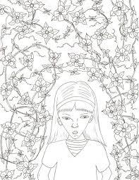 Secret Garden Colouring Pages