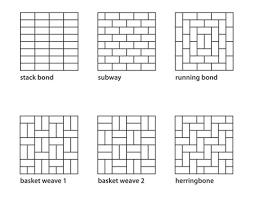 subway tile vertical beauteous subway tile patterns ideas home