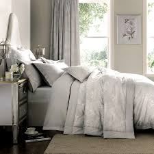 Dove Grey Dorma Paloma Bed Linen Collection