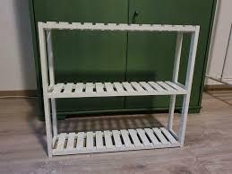 badregal küchenregal wandregal bambus weiß