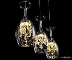 großhandel moderne kristall weingläser bar kronleuchter deckenleuchte pendelleuchte led beleuchtung hängele led esszimmer wohnzimmer leuchte