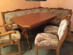 eiche rustikal sitzecke eckbank esstisch rundbank tisch