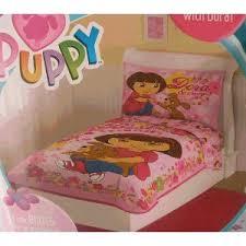 Dora Toddler Bed Set by Dora The Explorer Toddler Bedding Bedding Selections