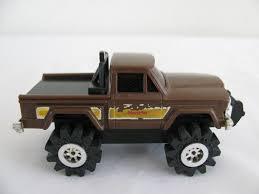 VINTAGE SCHAPER STOMPER 4x4 Brown Jeep Honcho Pickup Truck Parts ...