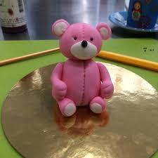 ma réalisation d un ours en pâte à sucre chez galina duverne