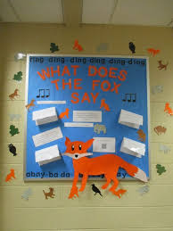 This Interactive Cross Curricular Bulletin Board Supports Kindergarten Standards For Music And Literature