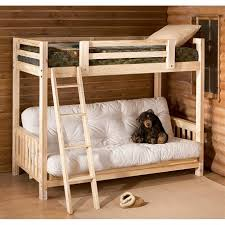 bunk bed with futon sofa uk bunk bed with futon wood beds
