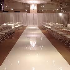 Event High Gloss Show Floor Full Roll White Walkway