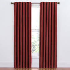 Eclipse Curtains Thermaback Vs Thermaweave by Eclipse Alexis Blackout Window Curtain Panel Walmart Com
