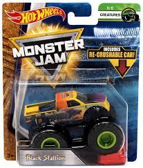 100 Black Stallion Monster Truck Hot Wheels Jam Diecast Car 66 Creatures