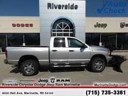 100 Dodge Ram Truck Used 2005 2500 For Sale Escanaba MI 3D7KS28C55G865620