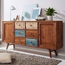 kadima design sideboard mango massivholz 175x89x39 cm shabby
