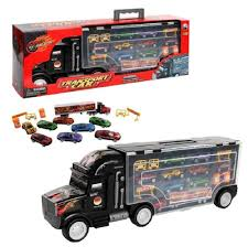 100 Semi Truck Toy Car Carrier Transport Now With 8 Cars Not 6 And Extra