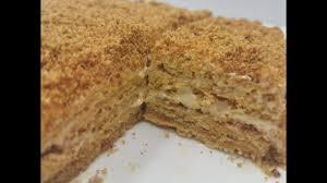 köstlicher honigkuchen mit milchmädchen creme einfach und schnell medovik russisches rezept