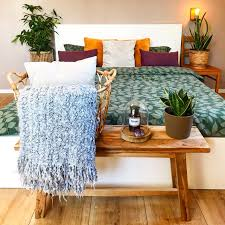 schlafzimmer bett interior einrichten wohnen i