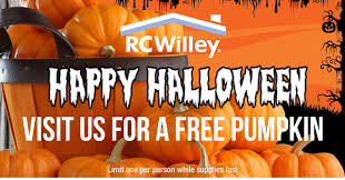 Sacramento Delta Pumpkin Patch by Get Your Free Pumpkin In Store Rc Willey Furniture Store