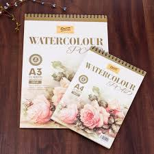 High Quality 24 White Sheet Paper Drawing Book Sketchbook Watercolor Coloring Books Wholesale