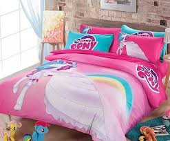 pencil kids room 100 cotton new my little pony bedding set girls