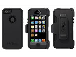 Otterbox Defender Series Rugged Protection All Black Case for