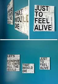 Sheet Music Canvas With A Quote Wall Decor Check Out The Full DIY On
