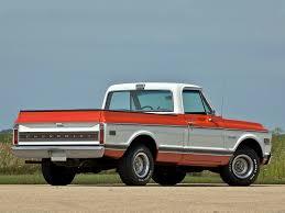 100 Cheyenne Truck 197172 Chevrolet C10 Fleetside Pickup