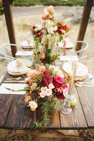 Branches Event Floral Company Fall Wedding Inspiration Shoot