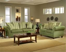 light forest green fabric modern living room sofa loveseat set