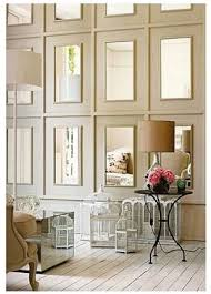 Mirror Tiles 12x12 Gold by A New Take On The Modular Mirror Wall Apartment Therapy