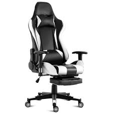 Costway Gaming Chair High Back Racing Recliner Office Chair W/Lumbar  Support & Footrest Ewracing Clc Ergonomic Office Computer Gaming Chair With Viscologic Gt3 Racing Series Cventional Strong Mesh And Pu Leather Rw106 Fniture Target With Best Design For Your Keurig Kduo Essentials Coffee Maker Single Serve Kcup Pod 12 Cup Carafe Brewer Black Walmartcom X Rocker Se 21 Wireless Blackgrey Pc Walmart Modern Decoration Respawn 110 Style Recling Footrest In White Rsp110wht Pro Pedestal Dxracer Formula Ohfd01nr Costway Executive High Back Blackred Top 7 Xbox One Chairs 2019