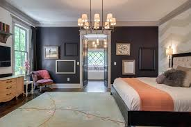 Frame Ideas Bedroom Transitional With White Walls Gray Trim Bedding