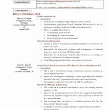 Resume Template Ms Word Resume