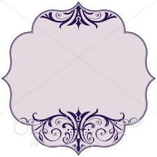 Purple Scroll Bracket Clipart