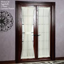 Front Door Side Window Curtain Rods by Front Door Window Curtain Rods Curtains French Doors Coverings