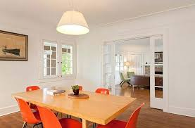 Dining Room Doors Fresh Living To On Fascinating Sliding Between Kitchen Pictures 4