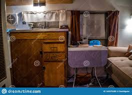 100 Inside Airstream Trailer A Vintage Ford Travel In Elkhart Indiana Editorial