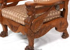 Morris Chair Recliner Mechanism by Magnificent Antique S A Cook U0026 Co Morris Chair With Winged