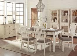 Bolanburg White And Gray Rectangular Dining Room Set From Ashley