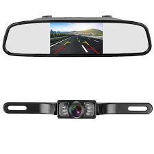 100 Auto And Truck Mirrors Unlimited Amazoncom LeeKooLuu Backup Camera And 43 Mirror Monitor Kit For