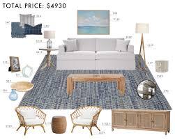 West Elm Bliss Sofa Craigslist by Budget Room Design East Coast Casual Living Room Emily