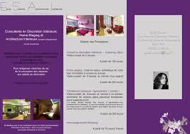 tarif decorateur d interieur plaquette de présentation photo de tarifs emilie sainton