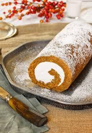 Calories In Libbys Pumpkin Roll by Recipe Pumpkin Swiss Cake Roll With Hazelnut Buttercream Kitchn