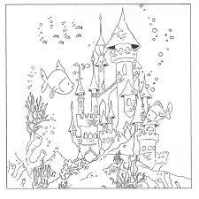 Fresh Underwater Coloring Pages 98 For Your Kids Online With