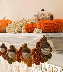Foam Pumpkins Bulk by Acorn And Leaf Garland And Mini Crocheted Pumpkins Joann
