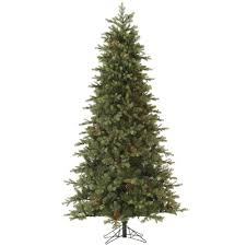 Flocked Slim Xmas Trees by Christmas Trees Artificial Slim Christmas Lights Decoration
