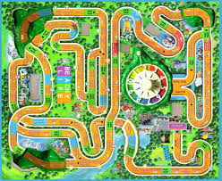 Game Boards Template Board Candyland